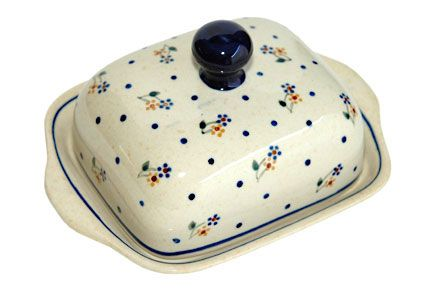 Country Meadow Butter Dish