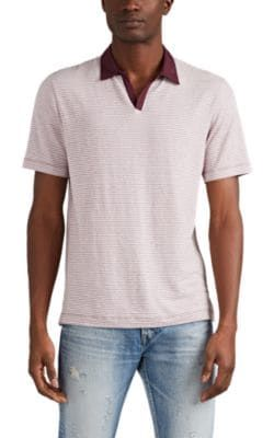 f5154c7b BARNEYS NEW YORK STRIPED MODAL-BLEND POLO SHIRT. #barneysnewyork #cloth