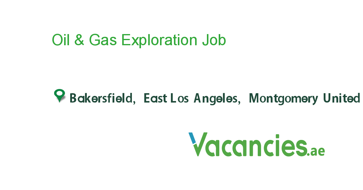 Oil Gas Exploration Job Engineering Careers Hospital Marketing