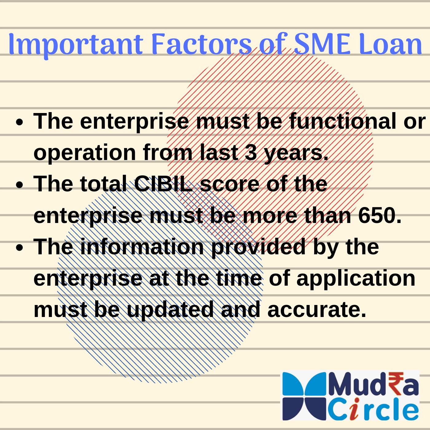 Factors Of Sme Loan Business Loans Finance Meaning Loan