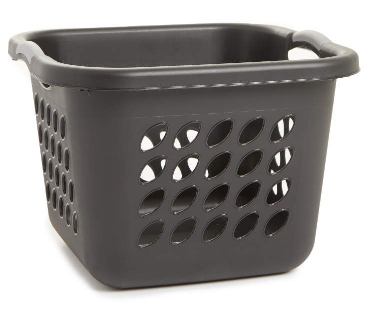 Sterilite Black Square 1 5 Bushel Laundry Basket Big Lots
