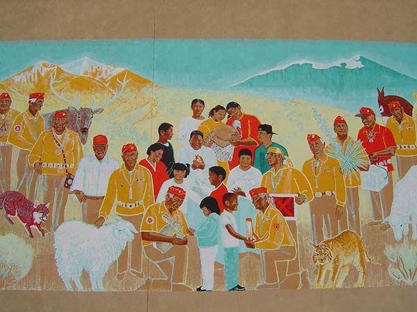 Mural in Gallup, NM