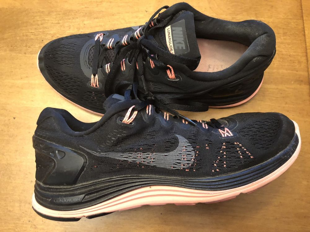 pretty nice 12e38 40e00 Nike Lunarglide 5 Womens Size 10 Running Athletic Shoes ...