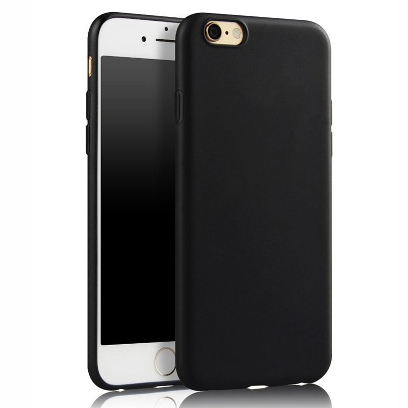 rubber iphone 7 case black