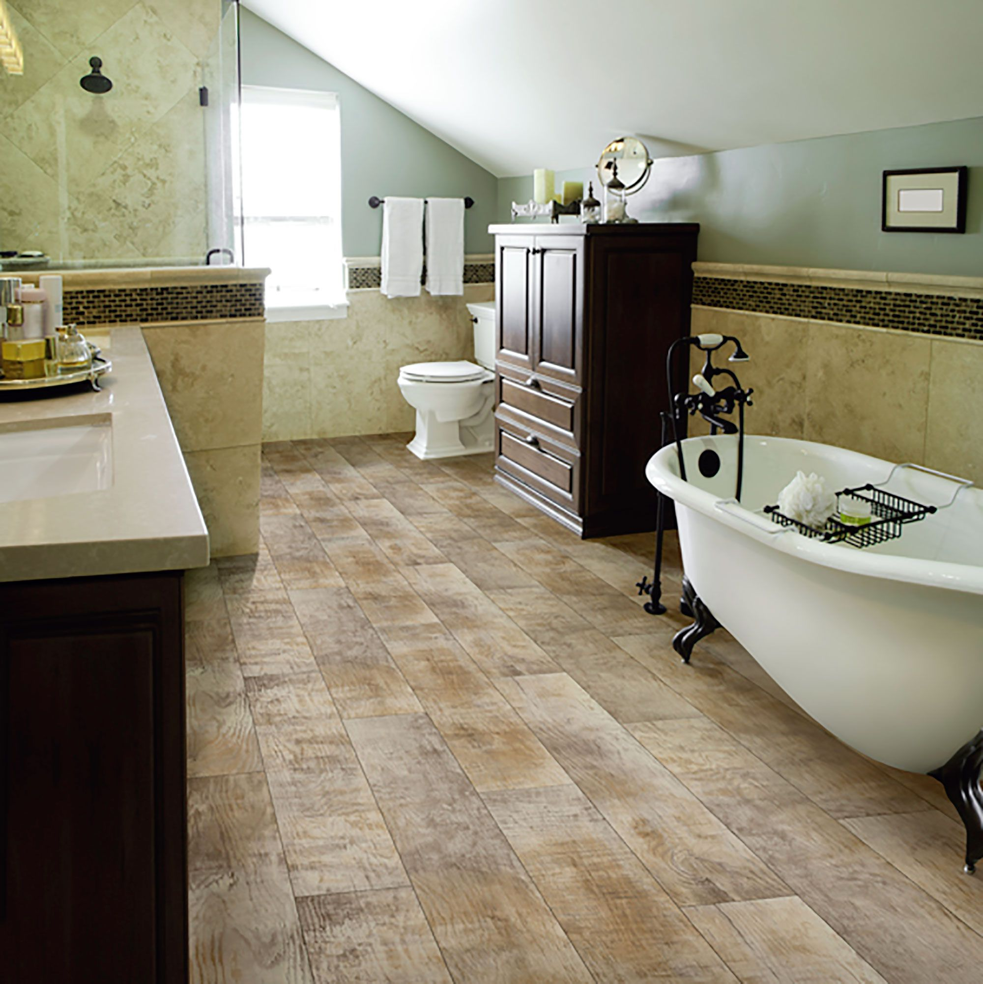 AirStep Evolution Topside Seaport Vinyl flooring