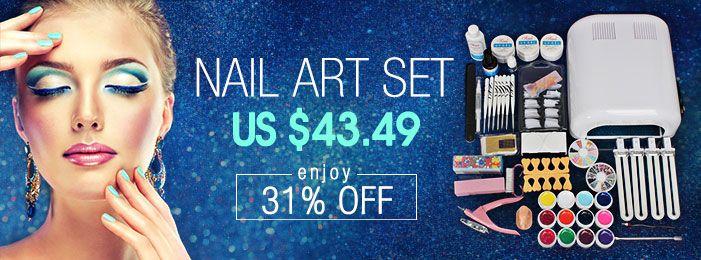 Nail Art For Sale - Wholesale Nail Art Designs - Banggood.com