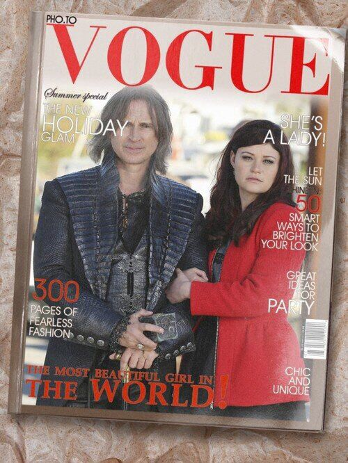 Fan edit obviously  Rumbelle  Vogue  | Once Upon a Time | Birthday
