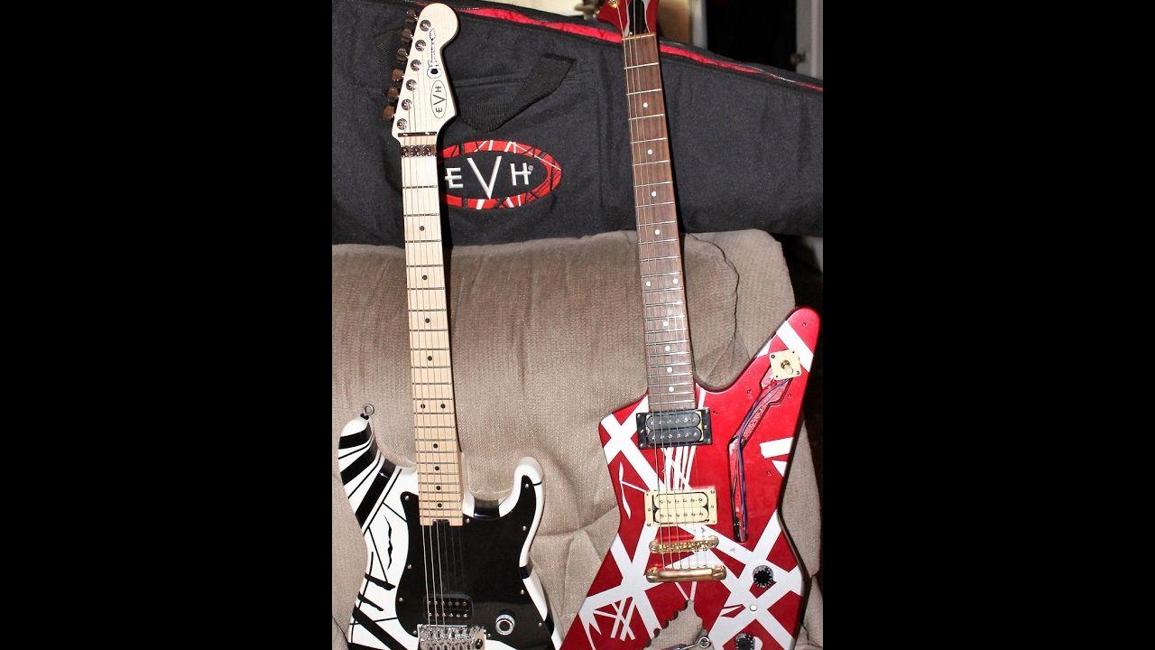 Edward Van Halen S Shark Guitar Ibanez Destroyer Best Ever Guitar Collection The Incredibles Van Halen