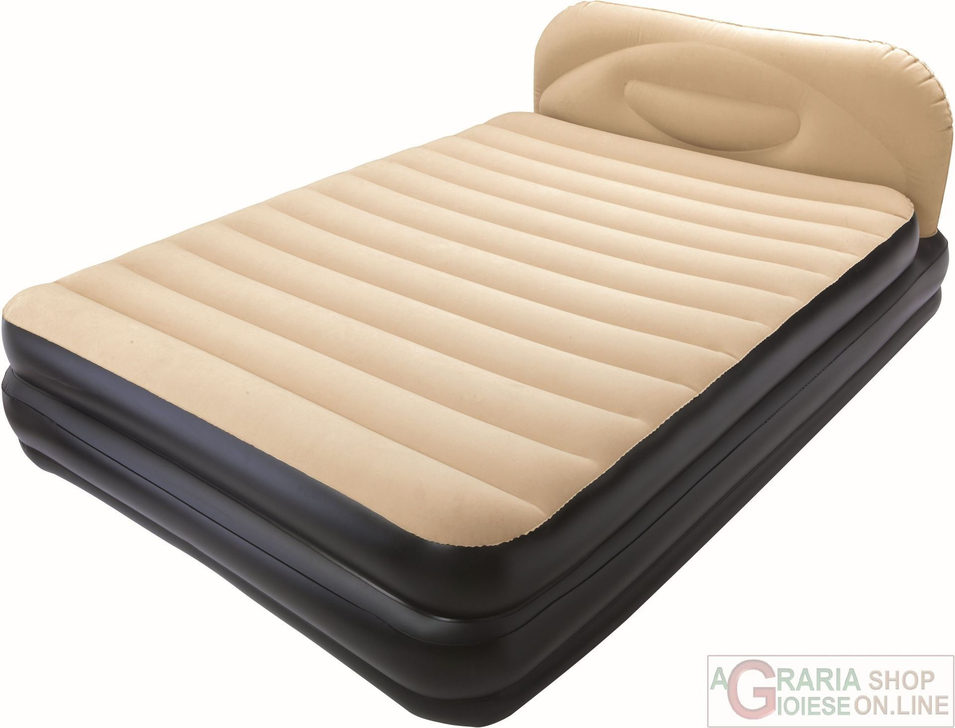 Materasso Letto Gonfiabile Airbed.Bestway Airbed Soft Back Elevated Letto Matrimoniale Doppio