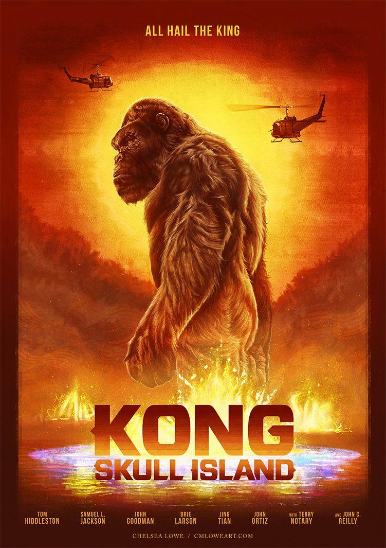 Kong Skull Island Movie Posters