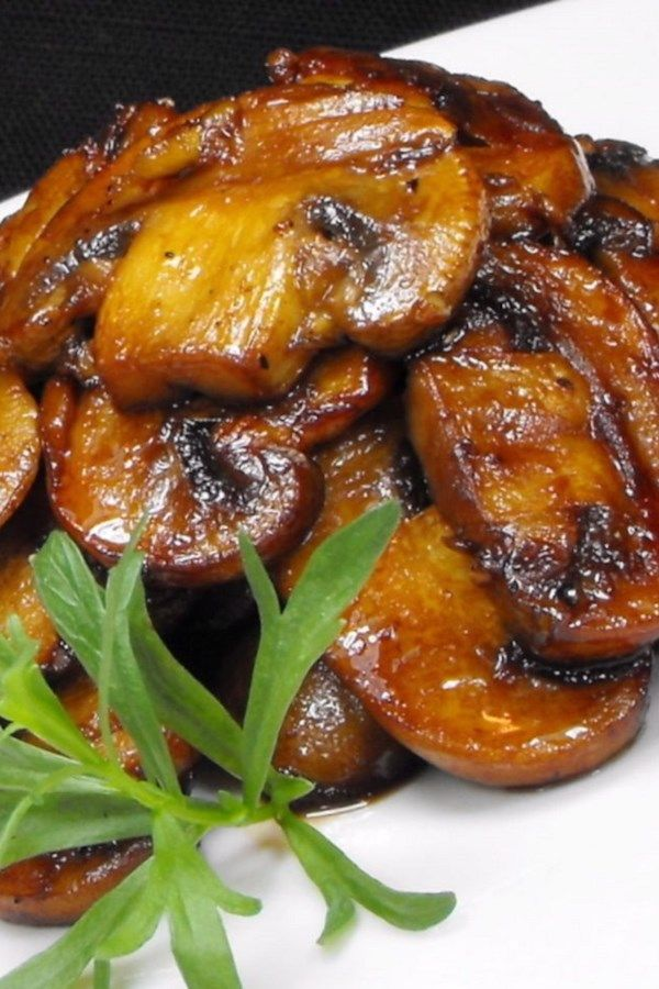 Mushrooms With A Soy Sauce Glaze I Have Tried Just About