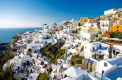 Greek Isles. Following in the footsteps of the sisterhood and the traveling pants.