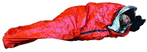 SOL Emergency Bivvy. For product info go to:  https://all4hiking.com/products/sol-emergency-bivvy/