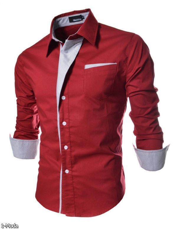 80168d01e91538 Formal Shirt Designs For Men Slim Fit 2015-2016 | Fashion Trends 2015-2016