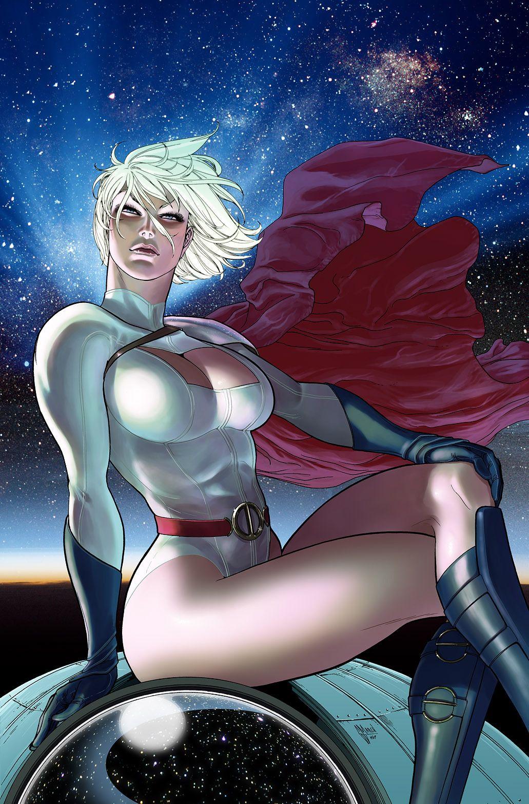 Power Girl Real Name Kara Zor-L, Also Known As Karen -5052