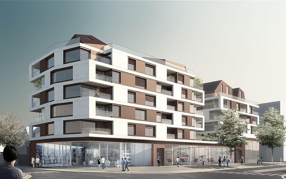 alm 1000x625 01 cephe tasar m pinterest immeuble logement et architecture contemporaine. Black Bedroom Furniture Sets. Home Design Ideas