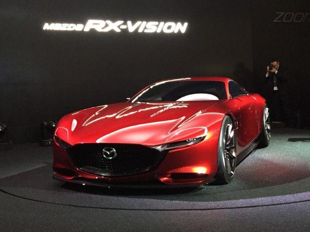 Mazda Promises Evolution Of Rx Vision Concept For 2017 Tokyo Motor Show Mazda Tokyo Motor Show Detroit Auto Show