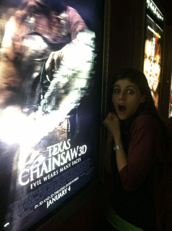 Alexandra Daddario Texas Chainsaw 3d D Addario Alexandra