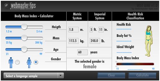 joomla component bmi and body fat percentage calculator joomla