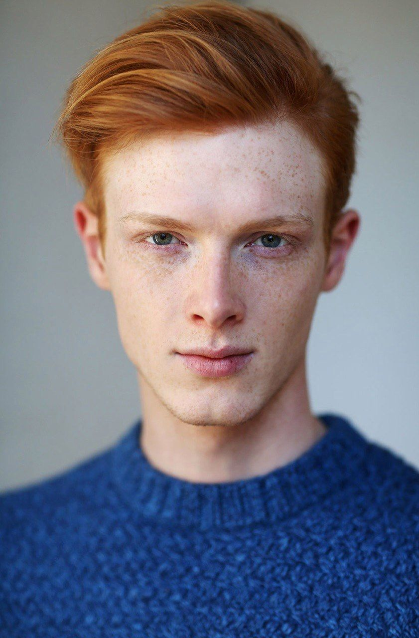 Linus Wordemann Red Hair Men Red Hair Boy Red Hair Blue Eyes