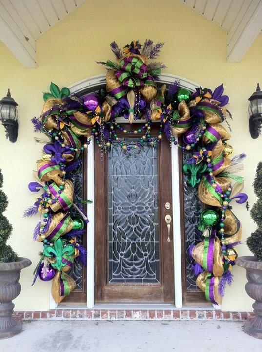 mardi gras decorating ideas mardigras decoration ideas - Mardi Gras Decorations