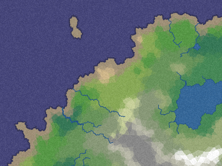Polygon Map Generation demo from Red Blob Games | digital