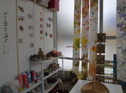 Mini atelier i love the hanging paper art a for Raumgestaltung reggio