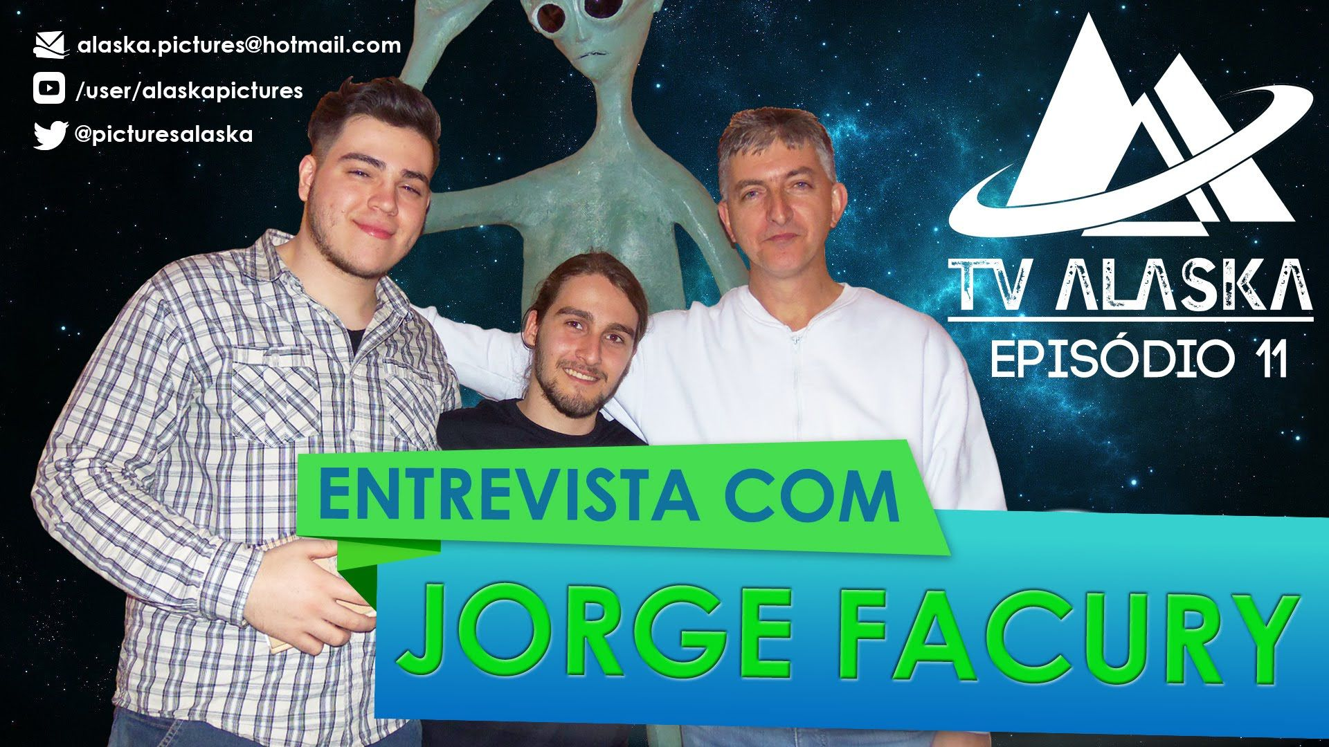 TV Alaska 11- Entrevista com Ufólogo Jorge Facury.