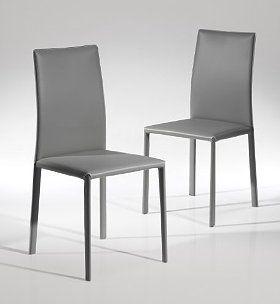 Elegant Room · Sumptuous Grey Leather ...