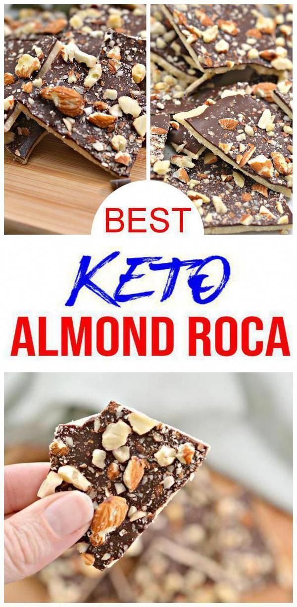 Keto Candy Yummy low carb keto Toffee Chocolate Candy. DIY homemade toffee chocolate candy healthy & delicious. Low carb treats everyone will love w/ keto Almond Roca #chocolate toffee candy recipe. Keto diet recipes great for ketogenic diet. Toffee chocolate candy #keto desserts, keto snacks round out perfect keto diet menu.Easy keto candy recipe-keto Thanksgiving desserts or Christmas food. Copycat Almond Roca candy recipe. Learn how to make low carb ket #KetoDietPlan