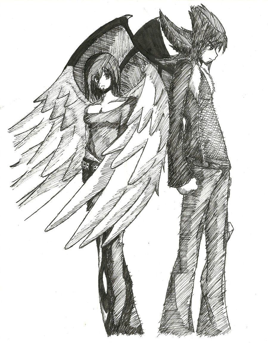 angel and demons drawings - photo #33