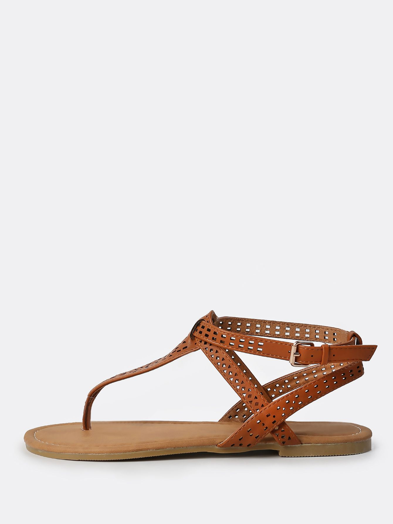 Shop Faux Leather Geo Cut Sandals CHESTNUT online. SheIn offers Faux Leather Geo Cut Sandals CHESTNUT & more to fit your fashionable needs.