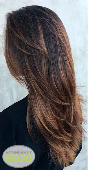 Layers of hair. Bring life and lighten your hair with layers.