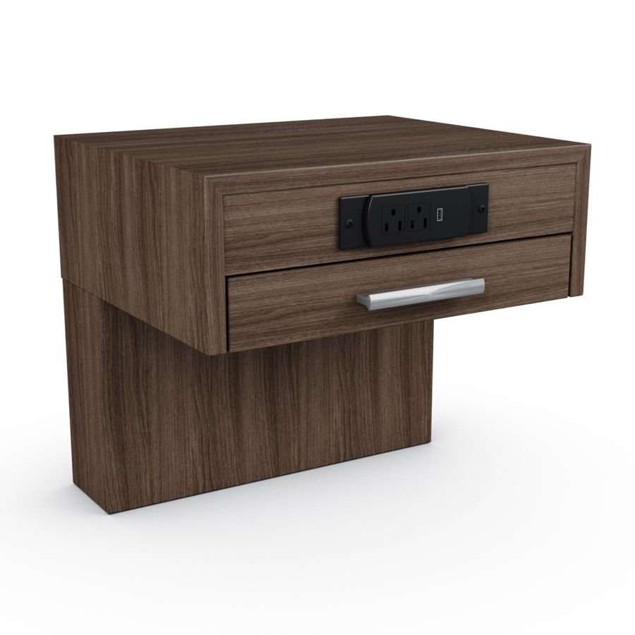 Meuble Outlet Single Nightstand With Power Outlet Meubles Foliot Z Walt Hi