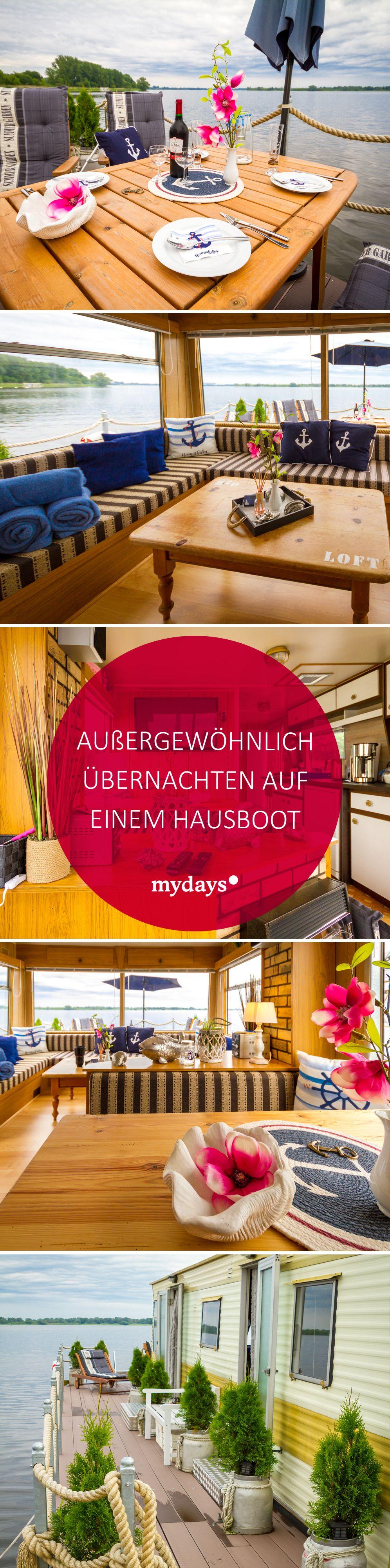 Hausboot Ubernachtung In Brandenburg An Der Havel Mydays Hausboot Ubernachtung Reise Inspiration