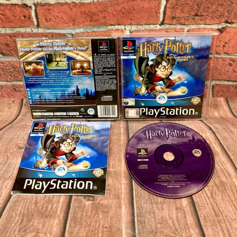 Details about Harry Potter & the Philosopher's Stone PS1