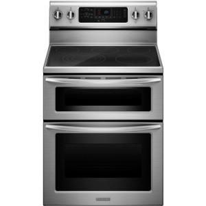 Kitchenaid Architect Series Ii 6 7 Cu Ft Double Oven Electric