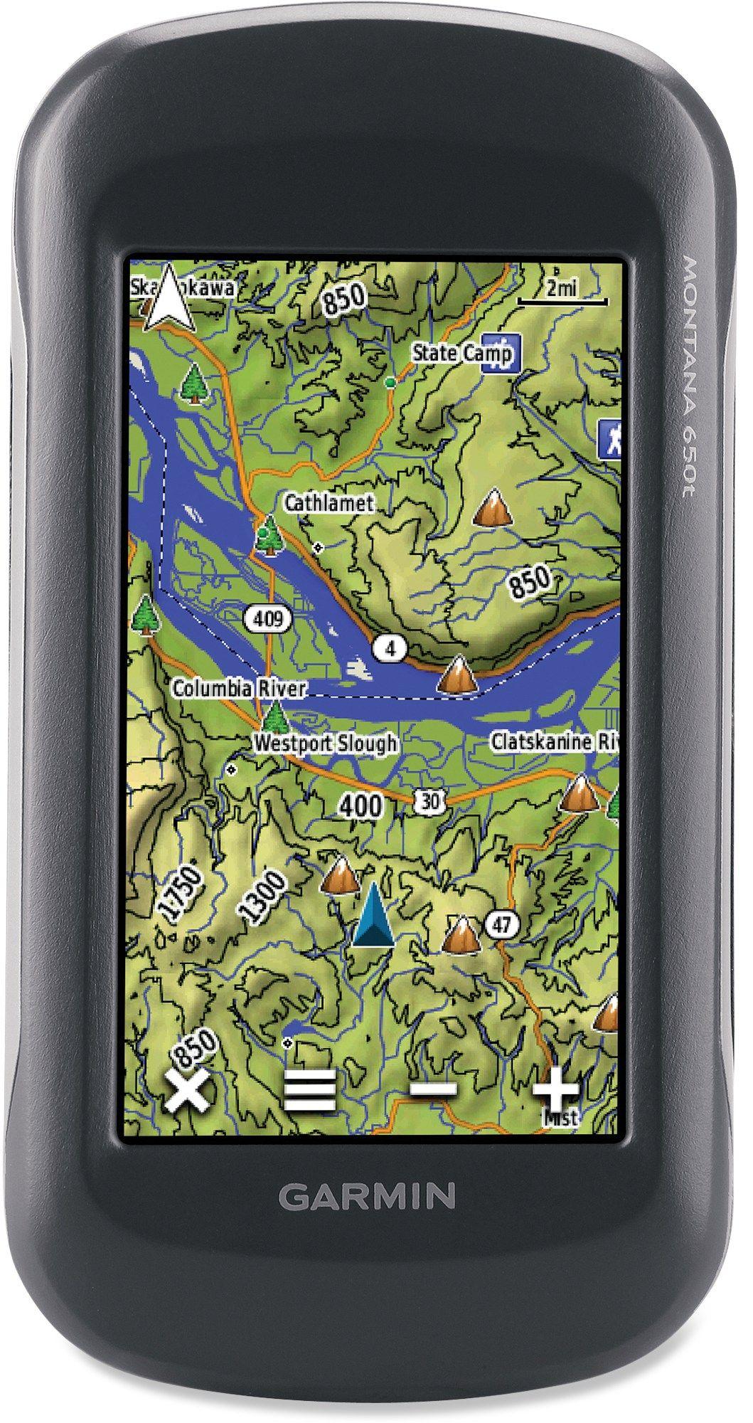 Garmin Montana 650t GPS   REI Co-op   REI   Gps map, Camping