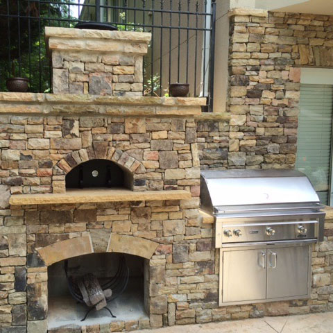 Wood Fired Pizza Outdoor Oven Stone Google Search Pizza Oven Stone Pizza Oven Outdoor Stone Fireplaces
