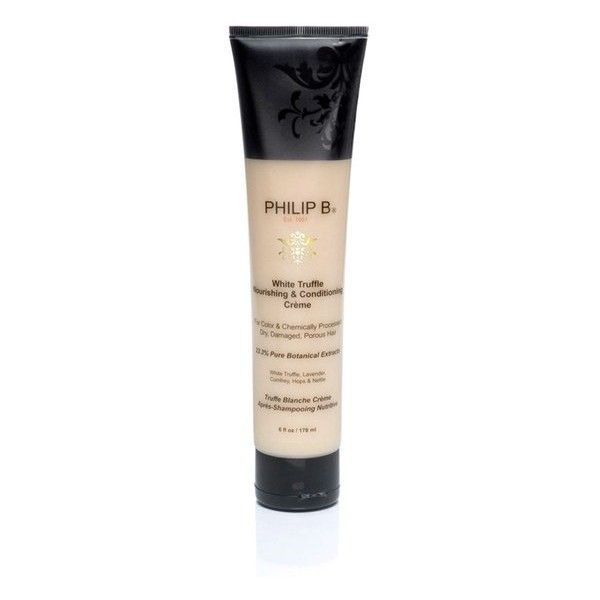 Philip B White Truffle Nourishing and Conditioning Crème (178ml) ($91) ❤ liked on Polyvore featuring beauty products, haircare, hair conditioner, philip b haircare and philip b