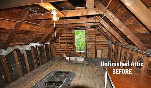 Fixing up an old new englander in maine attic house for Loft addition cost