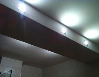 badezimmerlampe bauen stahltr ger verkleiden trockenbau lampe badezimmer stahltr ger verkleide. Black Bedroom Furniture Sets. Home Design Ideas
