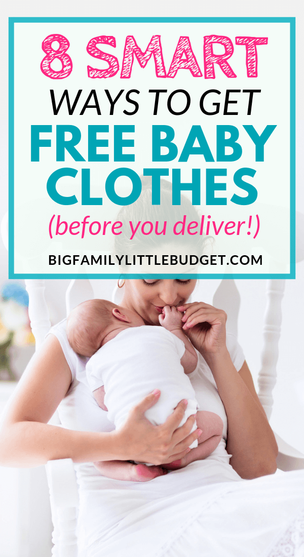 f2ca61717 8 Ways New Moms Can Get Free Baby Clothes Quickly