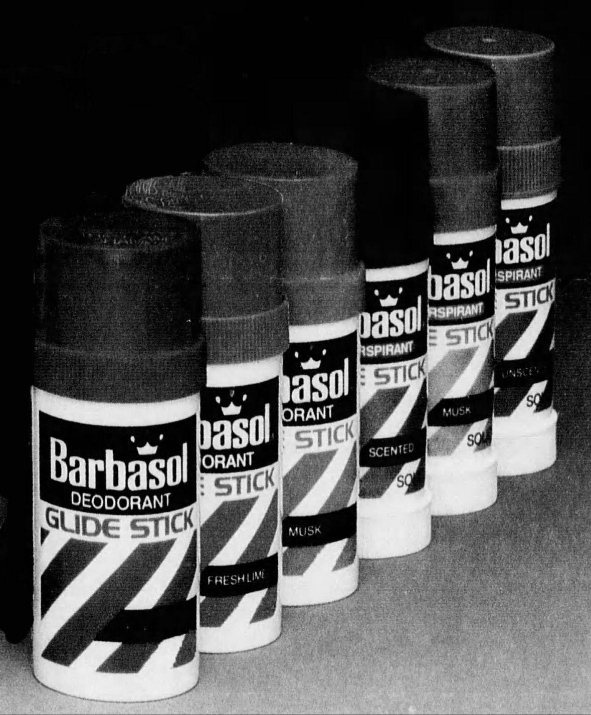 Barbasol Glide Stick Deodorants (1984-88) | The Johnsons
