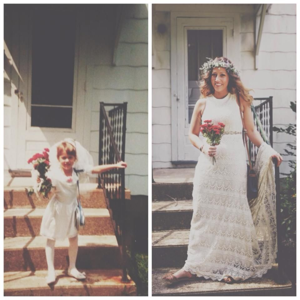 5 years old..wedding birthday party and I DIDN'T want a husband! 21 years later... I got my husband and he was worth the wait!