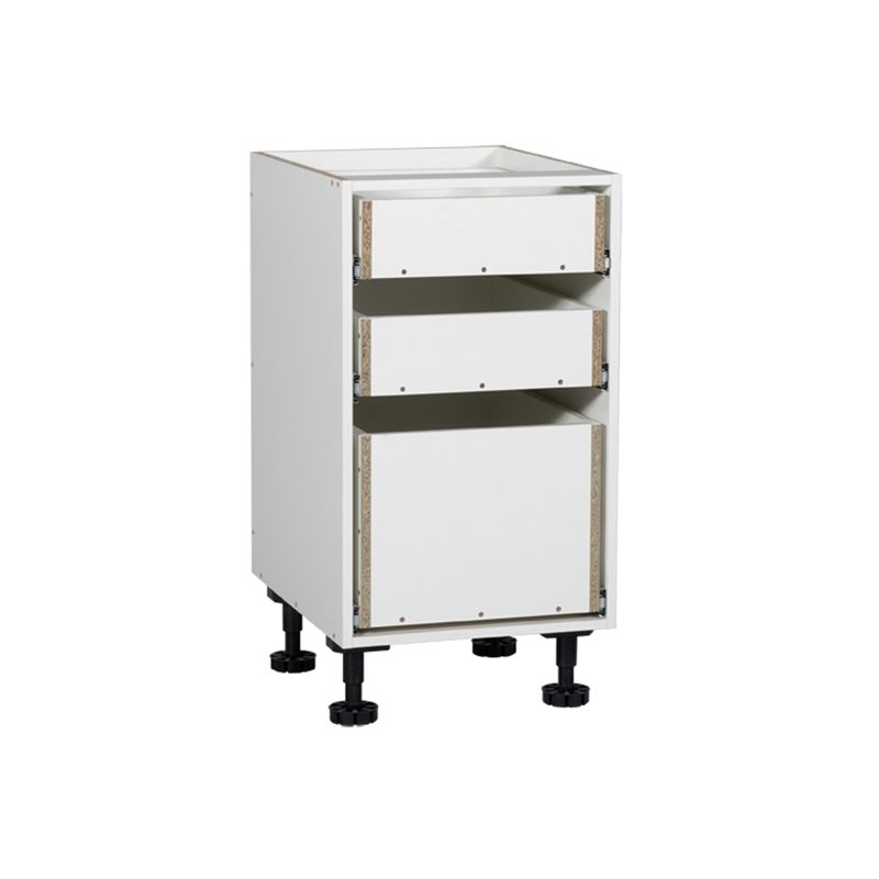kaboodle 450mm 3 drawer base cabinet base cabinets cabinet drawers on kaboodle kitchen storage id=44397