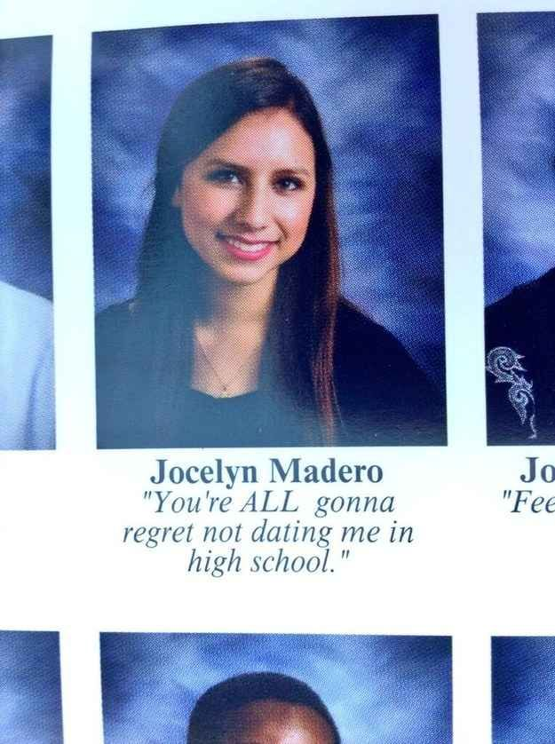 The PREACH Quote:   The 38 Absolute Best Yearbook Quotes From The Class Of 2014