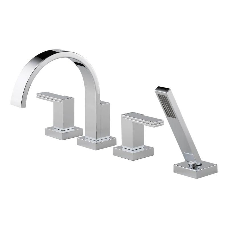 Brizo T67480lhp Tub Faucet Roman Tub Faucets Faucet