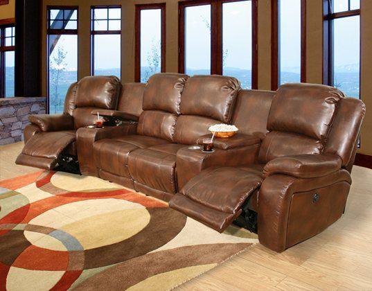 Kane's Furniture  Marquee 6 Piece Power Reclining Bonded Leather Pleasing Living Room Recliners Inspiration