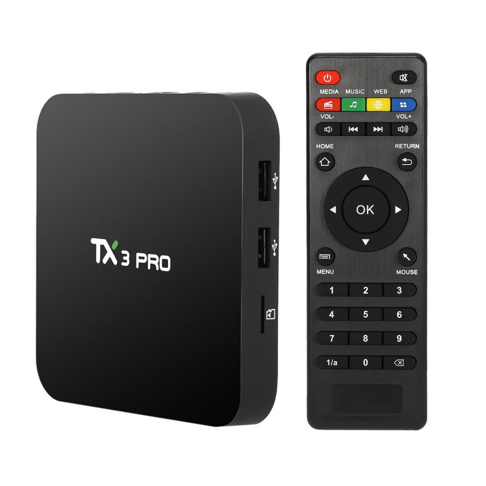 Best TX3 PRO Smart Android TV us plug Sale Online Shopping